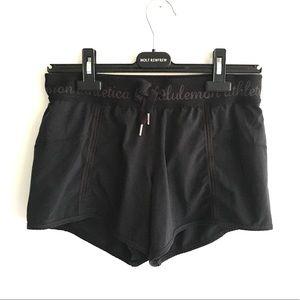 LULULEMON (RARE) Shorts Black Lined S